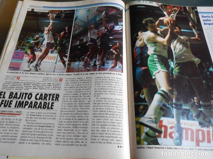 Coleccionismo deportivo: REVISTA BASKET 16, Nº 17 (31 de Enero de 1988), NBA: BATALA CAMPAL EN CHICAGO - Foto 7 - 211557487