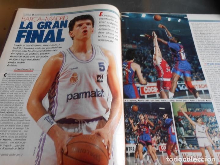 Coleccionismo deportivo: REVISTA BASKET 16, Nº 85 (21 de Mayo de 1989), LIGA, LA GRAN FINAL, ASI JUEGAN BARÇA - MADRID - Foto 3 - 211558175