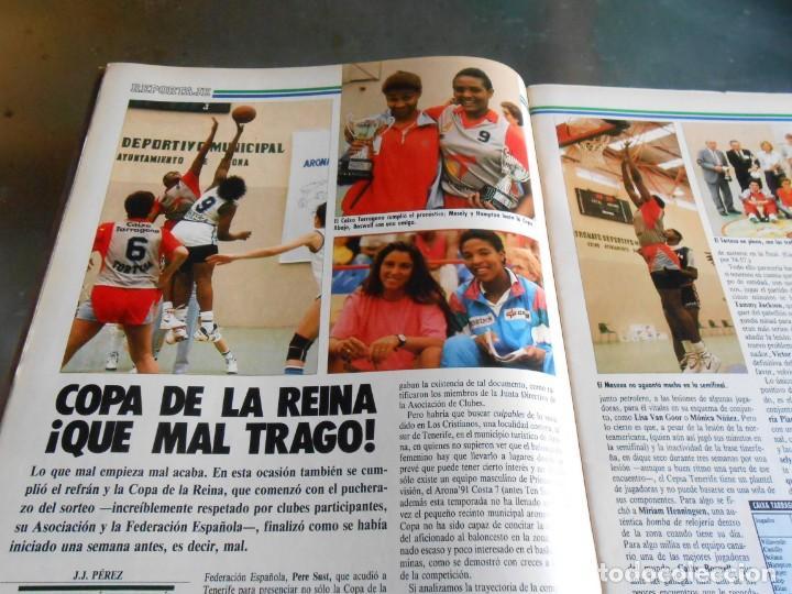 Coleccionismo deportivo: REVISTA BASKET 16, Nº 85 (21 de Mayo de 1989), LIGA, LA GRAN FINAL, ASI JUEGAN BARÇA - MADRID - Foto 5 - 211558175