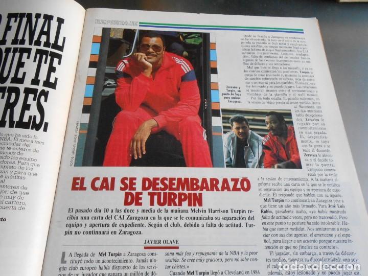 Coleccionismo deportivo: REVISTA BASKET 16, Nº 85 (21 de Mayo de 1989), LIGA, LA GRAN FINAL, ASI JUEGAN BARÇA - MADRID - Foto 7 - 211558175