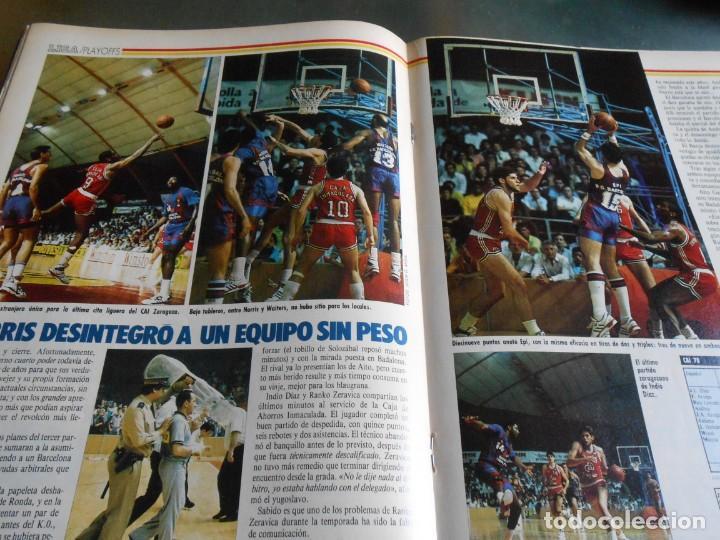 Coleccionismo deportivo: REVISTA BASKET 16, Nº 85 (21 de Mayo de 1989), LIGA, LA GRAN FINAL, ASI JUEGAN BARÇA - MADRID - Foto 9 - 211558175