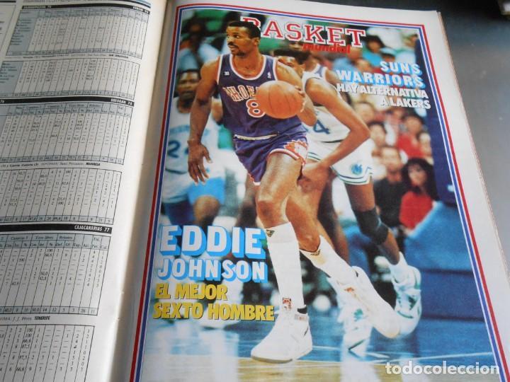 Coleccionismo deportivo: REVISTA BASKET 16, Nº 85 (21 de Mayo de 1989), LIGA, LA GRAN FINAL, ASI JUEGAN BARÇA - MADRID - Foto 10 - 211558175