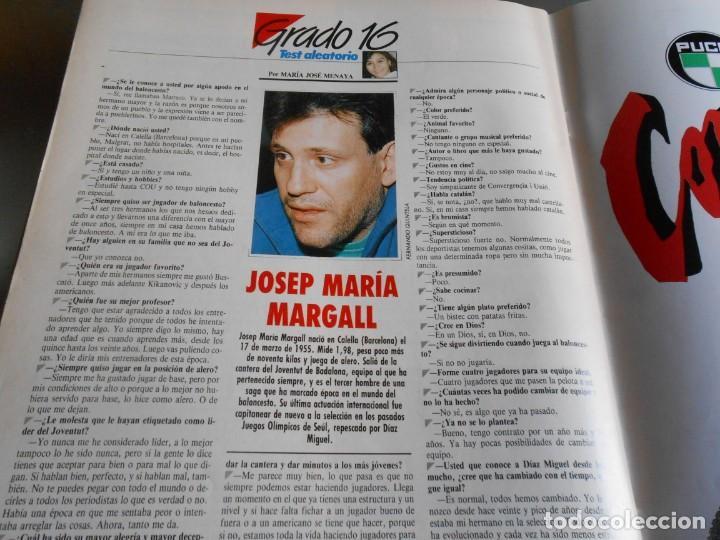 Coleccionismo deportivo: REVISTA BASKET 16, Nº 85 (21 de Mayo de 1989), LIGA, LA GRAN FINAL, ASI JUEGAN BARÇA - MADRID - Foto 11 - 211558175