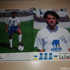 Coleccionismo deportivo: DIEGO LATORRE - CD TENERIFE - LA GACETA. Lote 211733806