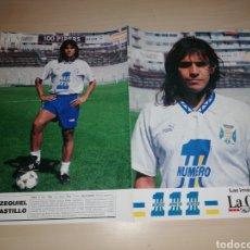 Coleccionismo deportivo: EZEQUIEL CASTILLO - CD TENERIFE - LA GACETA. Lote 211733829