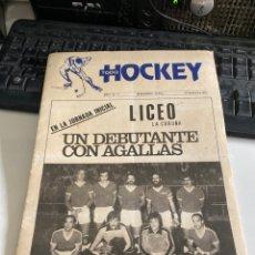 Coleccionismo deportivo: TODO HOCKEY. Lote 212542768