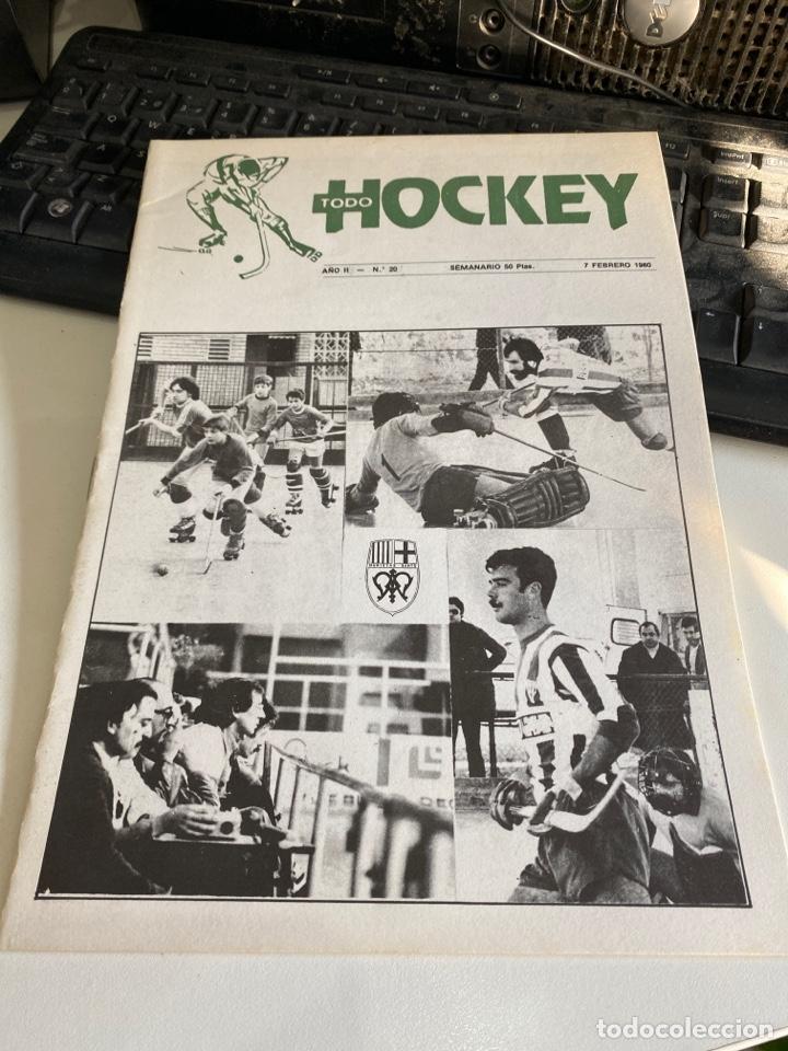 TODO HOCKEY (Coleccionismo Deportivo - Revistas y Periódicos - otros Deportes)
