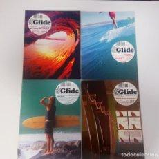 Coleccionismo deportivo: LOTE 4 REVISTAS GLIDE - LONGBOARD Y OTROS FLOTANTES. NÚMEROS 4, 6, 7, 8. SURF 2007-2009. Lote 213312132