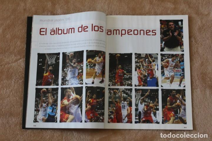 Coleccionismo deportivo: LOTE REVISTA GIGANTES DEL BASKET. Nº 1088 1089 1489 ESPAÑA CAMPEÓN DEL MUNDO BALONCESTO 2006 y 2019. - Foto 6 - 213546600
