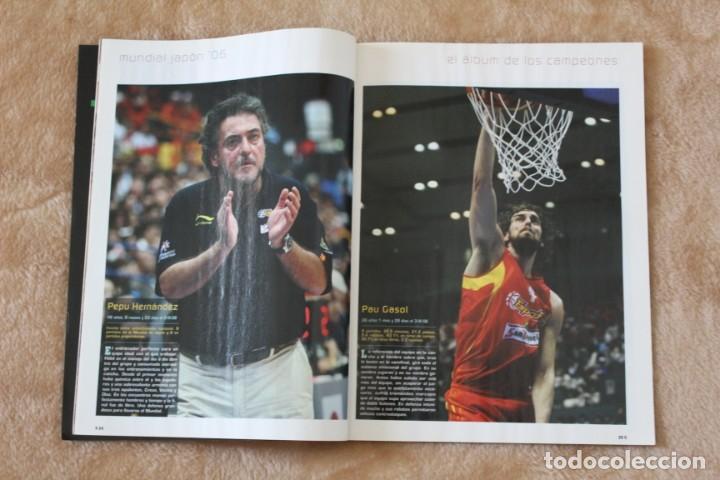 Coleccionismo deportivo: LOTE REVISTA GIGANTES DEL BASKET. Nº 1088 1089 1489 ESPAÑA CAMPEÓN DEL MUNDO BALONCESTO 2006 y 2019. - Foto 7 - 213546600