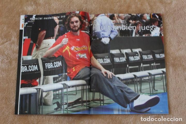 Coleccionismo deportivo: LOTE REVISTA GIGANTES DEL BASKET. Nº 1088 1089 1489 ESPAÑA CAMPEÓN DEL MUNDO BALONCESTO 2006 y 2019. - Foto 10 - 213546600