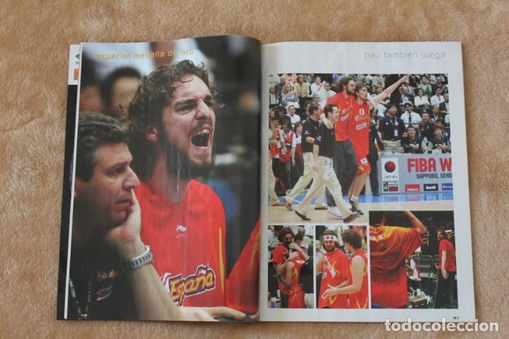 Coleccionismo deportivo: LOTE REVISTA GIGANTES DEL BASKET. Nº 1088 1089 1489 ESPAÑA CAMPEÓN DEL MUNDO BALONCESTO 2006 y 2019. - Foto 11 - 213546600