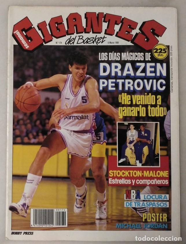Coleccionismo deportivo: Drazen Petrovic - Colección de revistas Gigantes del Basket y Superbasket (1986-1993) - Foto 4 - 166853230