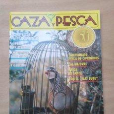 Coleccionismo deportivo: REVISTA CAZA Y PESCA - Nº 602 - FEBRERO 1993. Lote 213962150