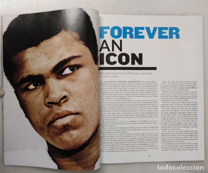 Coleccionismo deportivo: Especial sobre Muhammad Ali de la revista Mens Fitness (2016) - Cassius Clay - Foto 5 - 213991912