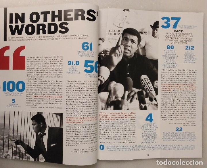 Coleccionismo deportivo: Especial sobre Muhammad Ali de la revista Mens Fitness (2016) - Cassius Clay - Foto 6 - 213991912