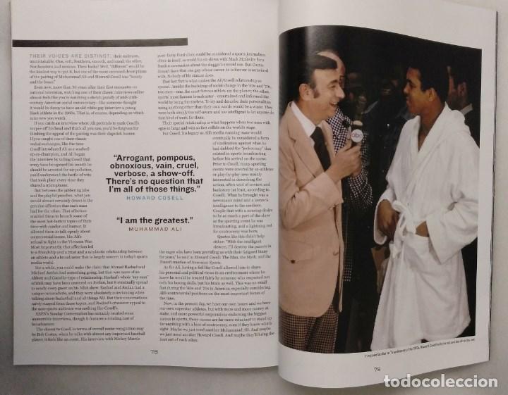Coleccionismo deportivo: Especial sobre Muhammad Ali de la revista Mens Fitness (2016) - Cassius Clay - Foto 12 - 213991912