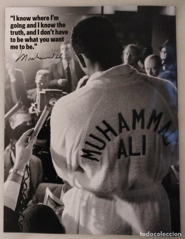 Coleccionismo deportivo: Especial sobre Muhammad Ali de la revista Mens Fitness (2016) - Cassius Clay - Foto 14 - 213991912