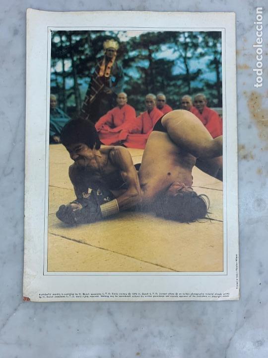 Coleccionismo deportivo: REVISTA POSTER KUNG-FU KUNGFU - NUMERO 37 - BRUCE LEE - Foto 2 - 214168123