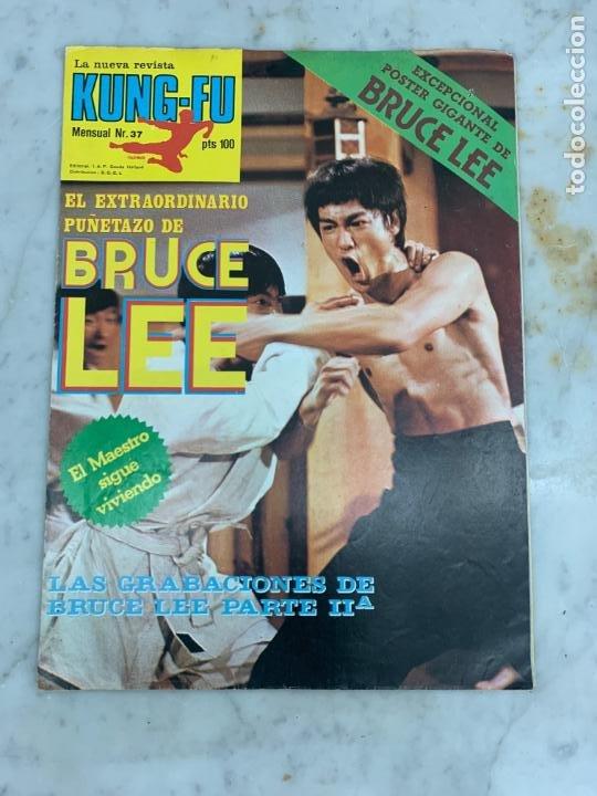 REVISTA POSTER KUNG-FU KUNGFU - NUMERO 37 - BRUCE LEE (Coleccionismo Deportivo - Revistas y Periódicos - otros Deportes)