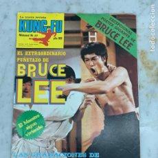 Coleccionismo deportivo: REVISTA POSTER KUNG-FU KUNGFU - NUMERO 37 - BRUCE LEE. Lote 214168123