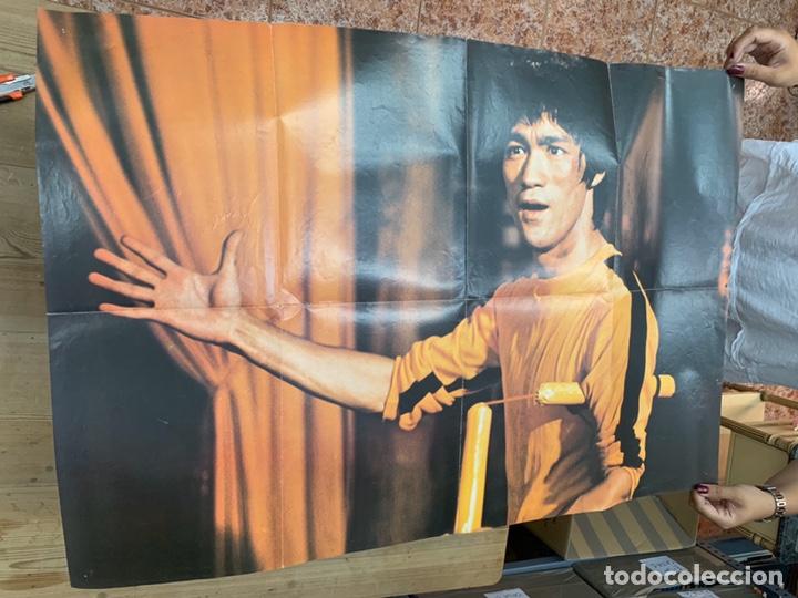 Coleccionismo deportivo: REVISTA POSTER KUNG-FU KUNGFU - NUMERO 37 - BRUCE LEE - Foto 3 - 214168123