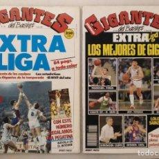 Coleccionismo deportivo: REVISTAS ''GIGANTES DEL BASKET'' - EXTRAS LIGA ACB DE 1988 Y 1989. Lote 214231541