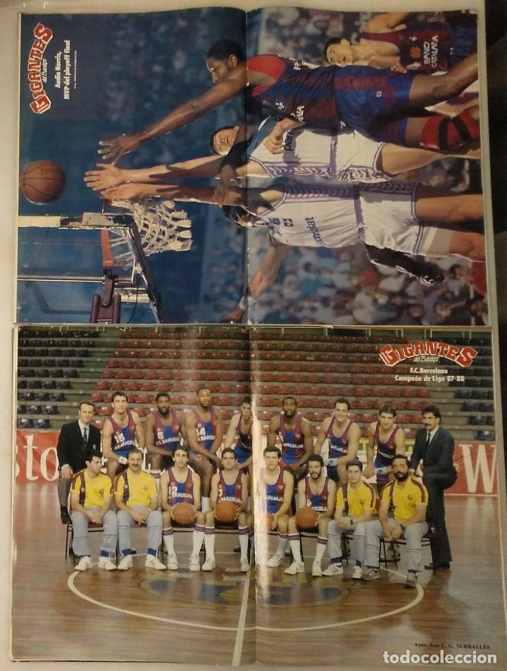 Coleccionismo deportivo: Revistas Gigantes del Basket - Extras Liga ACB de 1988 y 1989 - Foto 2 - 214231541