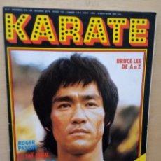Coleccionismo deportivo: BRUCE LEE PORTADA REVISTA KÁRATE. Lote 214320341