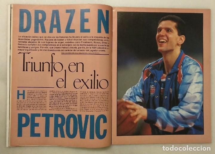 Coleccionismo deportivo: Drazen Petrovic - Colección de revistas Gigantes del Basket y Superbasket (1986-1993) - Foto 28 - 166853230