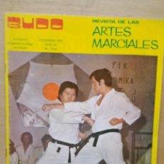 Coleccionismo deportivo: REVISTA BUDO DE ARTES MARCIALES. Lote 214444037