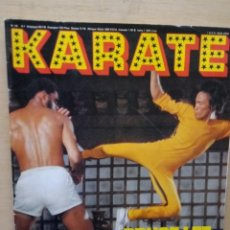 Coleccionismo deportivo: BRUCE LEE PORTADA REVISTA KARATE. Lote 214482673