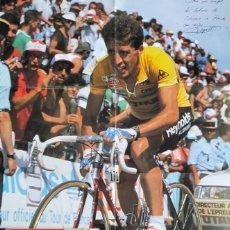 Coleccionismo deportivo: REVISTA EXTRA CICLISMO A FONDO Nº 2 - 1988 PERICO DELGADO GANADOR TOUR 88 REYNOLDS + POSTER GIGANTE. Lote 214623141