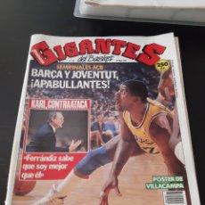 Coleccionismo deportivo: REVISTA GIGANTES DEL BASKET Nº238 28 MAYO 1990. Lote 214644896