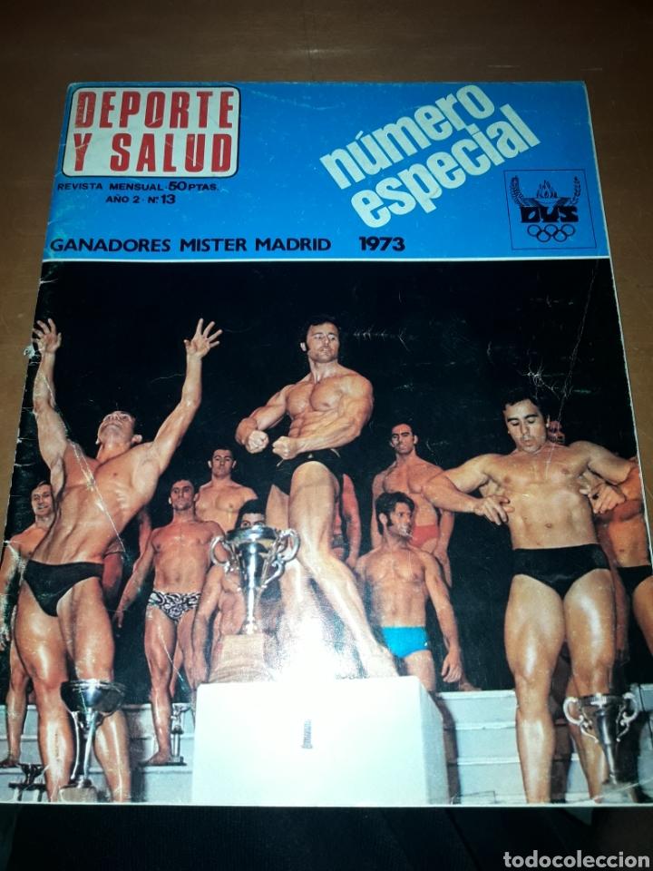 DEPORTE Y SALUD. NÚMERO 13. 1973. GANADORES MISTER MADRID. ESPECIAL. RARO. DANI (Coleccionismo Deportivo - Revistas y Periódicos - otros Deportes)