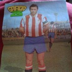 Coleccionismo deportivo: REVISTA GRADA 25 1980. INCLUIDO PÓSTER 42X28 DE ENRIQUE CASTRO - QUINI- (SPORTING DE GIJÓN).. Lote 214898273