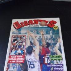 Coleccionismo deportivo: REVISTA GIGANTES DEL BASKET Nº 219(15DE ENERODE 1990): EL BARÇA APABULLÓ AL MADRID - MAGIC Y BIRD. Lote 214978347