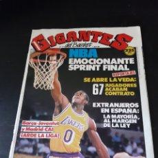 Coleccionismo deportivo: BALONCESTO GIGANTES DEL BASKET NO.179 (10 DE ABRIL DE 1989) REVISTA. Lote 214978533