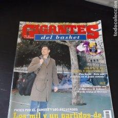 Coleccionismo deportivo: REVISTA GIGANTES 945 15 SEPTIEMBRE 2003 LOS MIL Y UN PARTIDOS NACHO AZOFRA. Lote 214978888