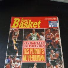 Coleccionismo deportivo: SÚPER BASKET N° 80 (1991). PALYOFFS NBA, SALARIOS NBA,. Lote 214979560