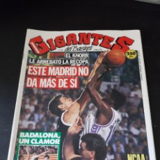 Coleccionismo deportivo: 26 MARZO 1990 EL KNORR LE ARREBATO LA RECOPA AL MADRID.. REVISTA GIGANTES 229. Lote 214981990