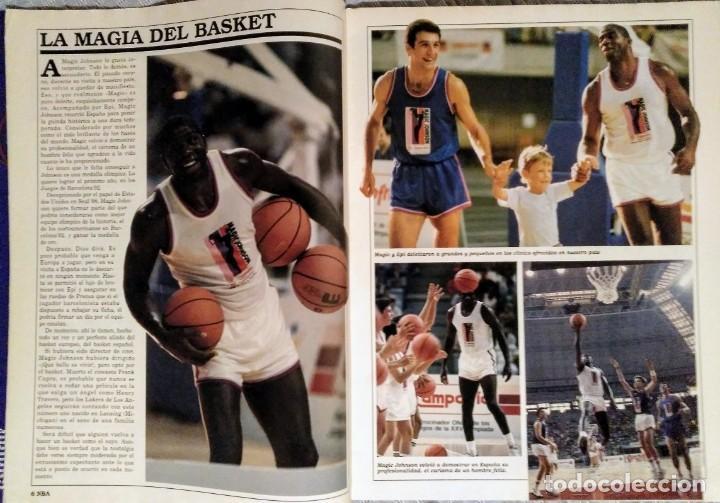 Coleccionismo deportivo: Michael Jordan & Magic Johnson - Revista Oficial NBA nº 1 - Primer anillo (1991) - Foto 3 - 174346622
