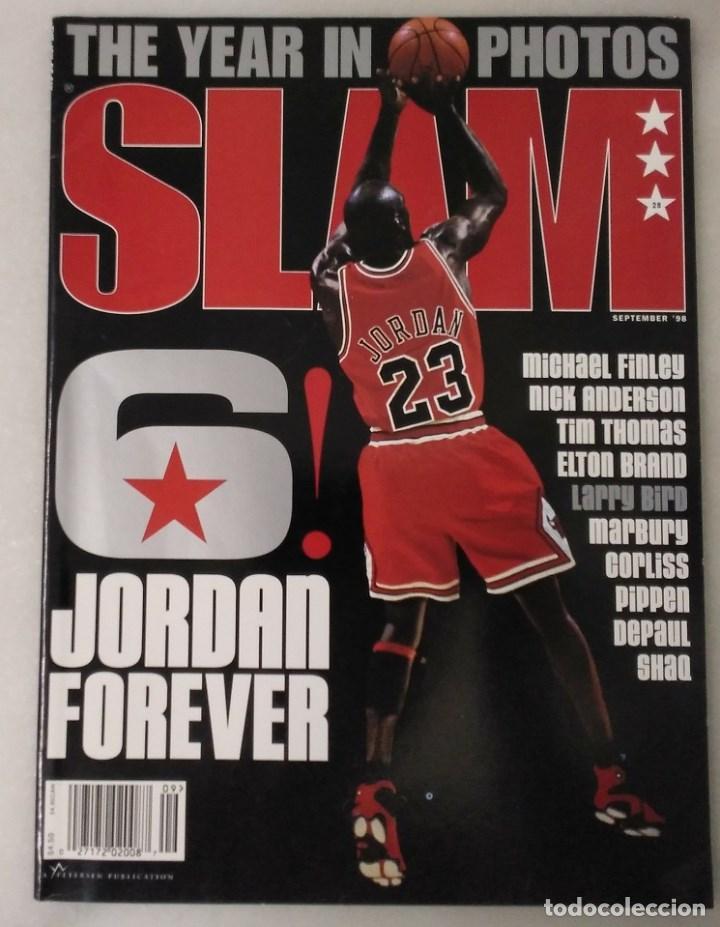 REVISTA ''SLAM'' (SEPTIEMBRE 1998) - MICHAEL JORDAN - THE LAST DANCE - NBA (Coleccionismo Deportivo - Revistas y Periódicos - otros Deportes)