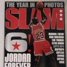 Coleccionismo deportivo: REVISTA ''SLAM'' (SEPTIEMBRE 1998) - MICHAEL JORDAN - THE LAST DANCE - NBA. Lote 215595487