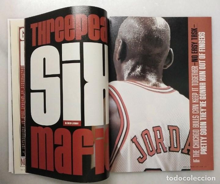 Coleccionismo deportivo: Revista Slam (septiembre 1998) - Michael Jordan - The last dance - NBA - Foto 2 - 215595487