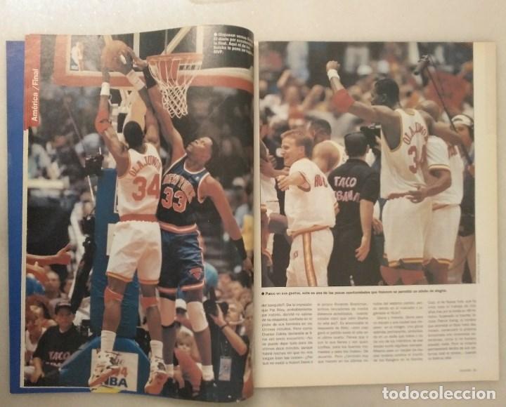 Coleccionismo deportivo: Revistas Gigantes del Basket - Houston Rockets, campeones NBA de 1994 y 1995 - Foto 4 - 215687693