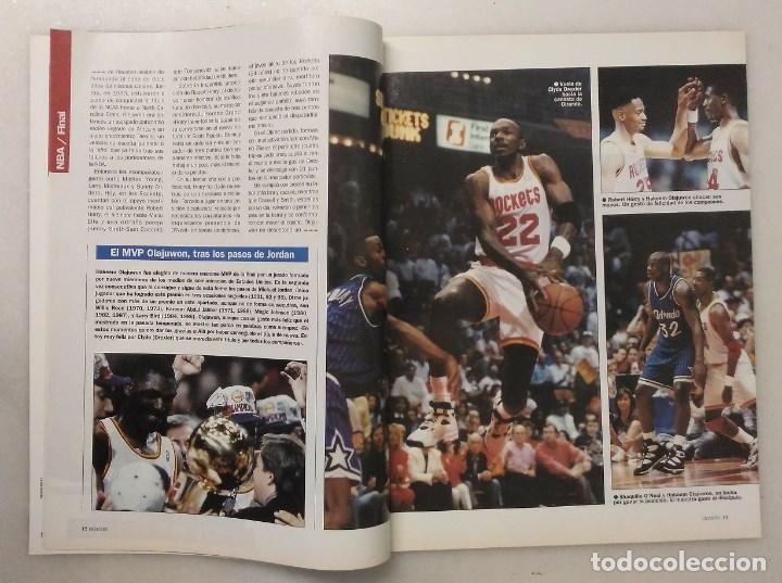 Coleccionismo deportivo: Revistas Gigantes del Basket - Houston Rockets, campeones NBA de 1994 y 1995 - Foto 7 - 215687693