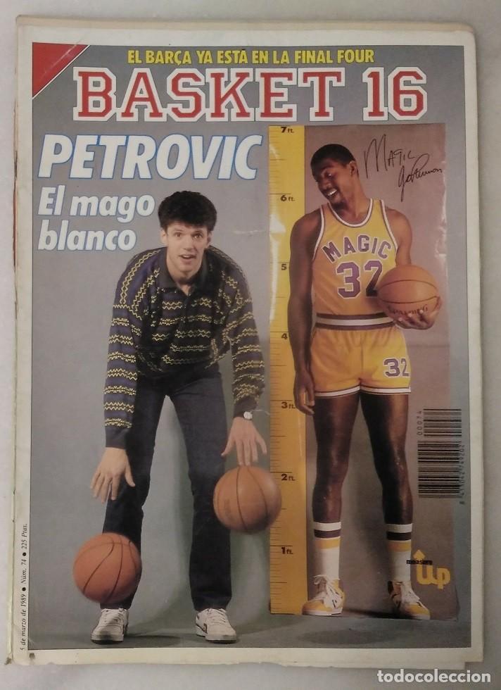 Coleccionismo deportivo: Drazen Petrovic - Colección de revistas Gigantes del Basket y Superbasket (1986-1993) - Foto 29 - 166853230