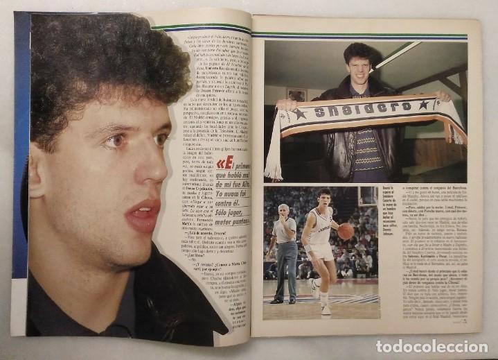 Coleccionismo deportivo: Drazen Petrovic - Colección de revistas Gigantes del Basket y Superbasket (1986-1993) - Foto 30 - 166853230