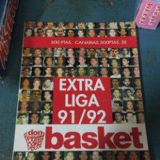 Coleccionismo deportivo: EXTRA LIGA DON BASKET 91 92 1991 1992. Lote 216433612